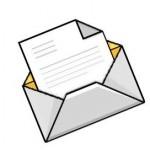 La lettre d'accompagnement au manuscrit