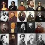 Hommage aux écrivains du 16e au 19e siècle