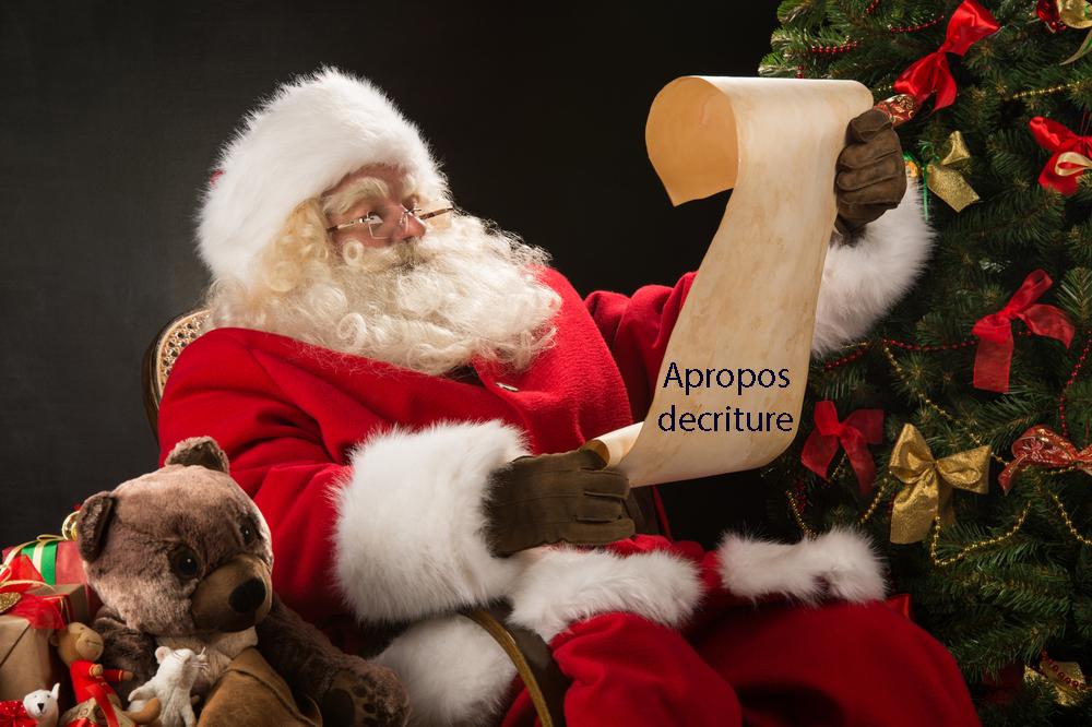 Lettre au Père Noël et petite pause !